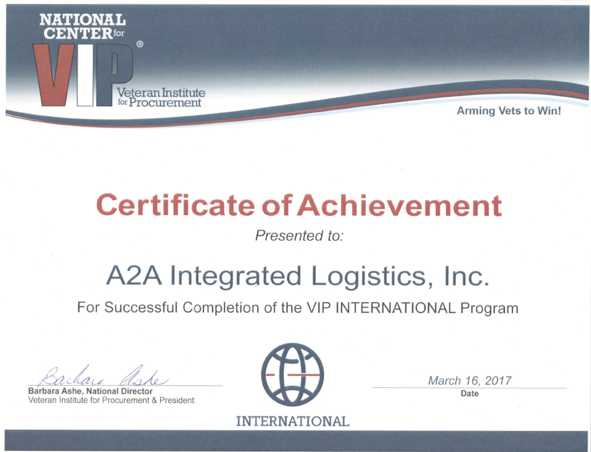 Certifications a2a logistics a2a is a certified small business disadvantaged business enterprise through the port authority of new york new jersey supporting numerous customer needs xflitez Images